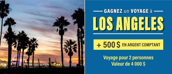 Concours Linen Chest Voyage à Los Angeles