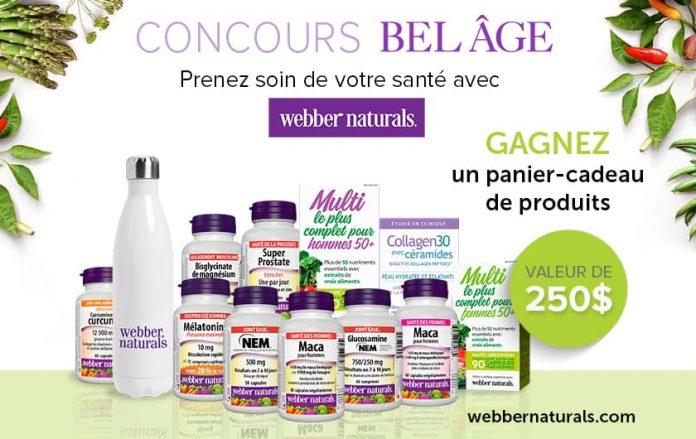 Concours Bel Âge Webber Naturals