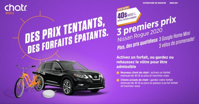 Concours Chatr Mobile