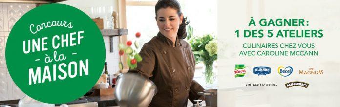 Concours IGA Une Chef À La Maison