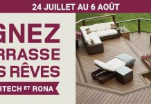Concours RONA & Timbertech