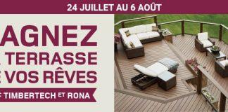 Concours RONA & Timbertech