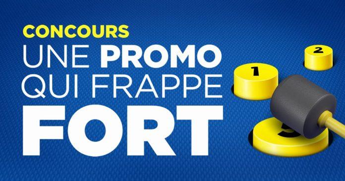 Concours Maxi Une Promo Qui Frappe Fort