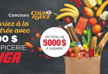 Concours 35e Coup De Pouce X IGA
