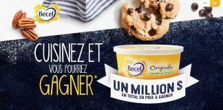 Concours Becel Cuisinez et Gagnez