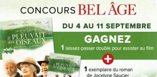 Concours Bel Âge Il Pleuvait Des Oiseaux