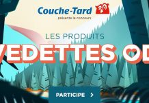 Concours Couche-Tard Les Produits Vedettes OD