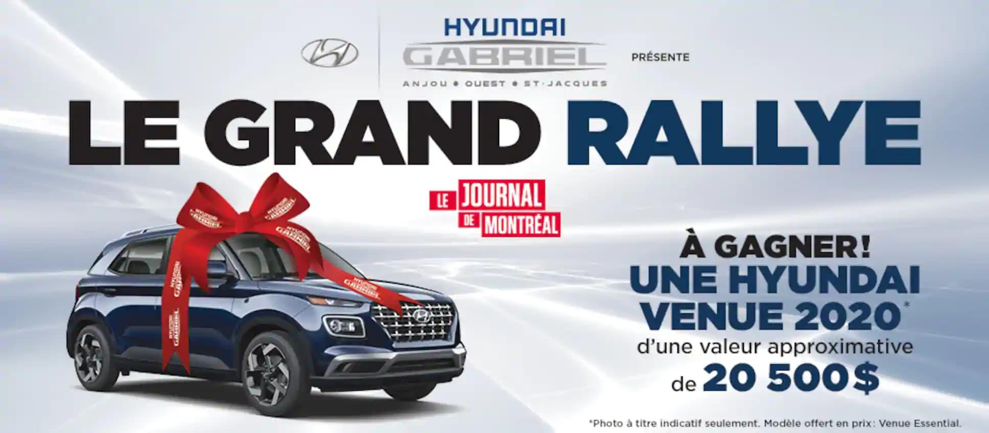 Concours Journal de Montréal Le Grand Rallye 2020 ...