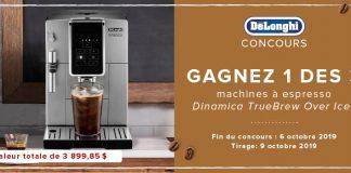 Concours Linen Chest Machines à Espresso