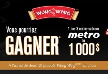 Concours Metro Wong Wing
