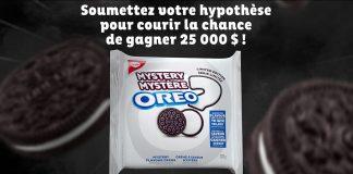 Concours Saveur Oreo Mystère 2019