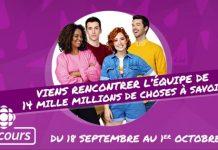 Concours Radio-Canada 14 mille millions de choses à savoir