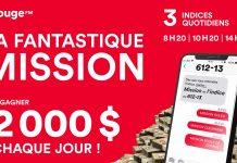 Concours Rouge FM La Fantastique Mission