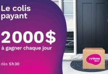 Concours Rythme FM Le Colis Payant