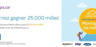 Concours Air Miles Montagne de Milles