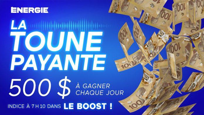Concours Énergie 94.3 La Toune Payante