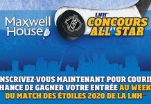 Concours Maxwell House Match des Étoiles de la LNH