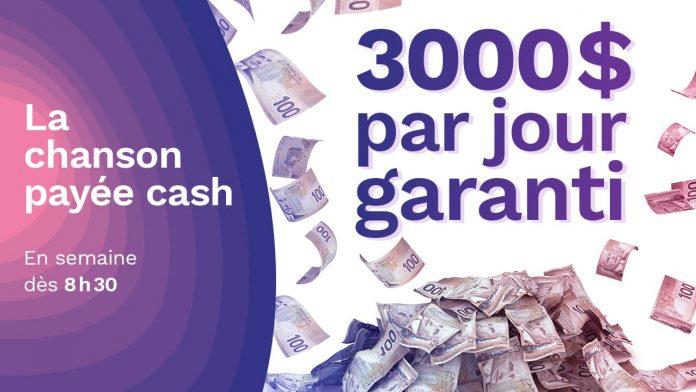 Concours Rythme FM La Chanson Payée Cash