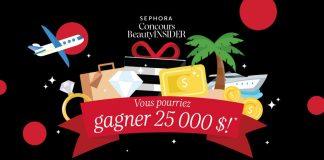 Concours Sephora Beauty Insider