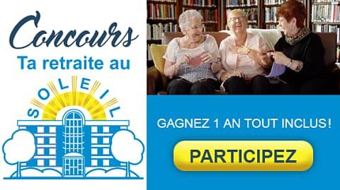 Concours TVA Les Résidences Soleil