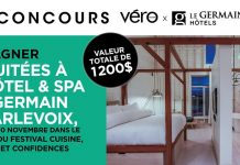 Concours Véro Le Germain Hôtels