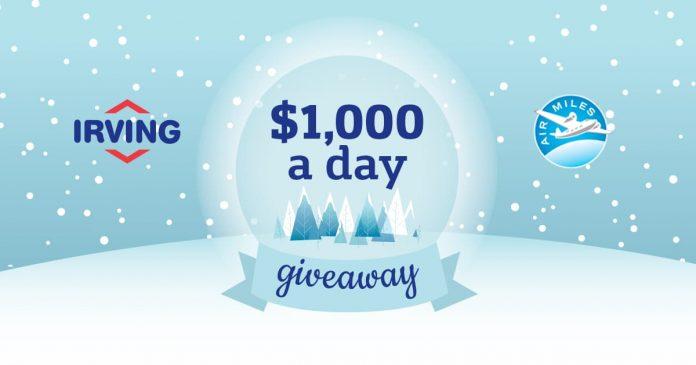 Concours Irving Fun 1000$ Par Jour