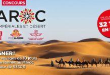 Concours Journal De Montréal Visite Maroc Villes Impériales et Désert