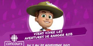 Concours Radio-Canada Viens Vivre Les Aventures De Ranger Rob