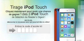 Concours Sélection du Reader's Digest iPod SE