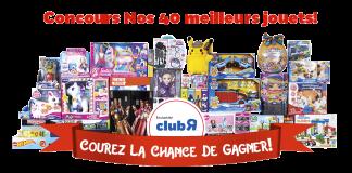 """Concours Toys""""R""""Us Nos 40 Meilleurs Jouets"""