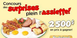 Concours Cora Des Surprises Plein l'Assiette