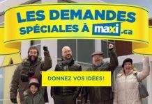Concours Demandes Spéciales de Maxi