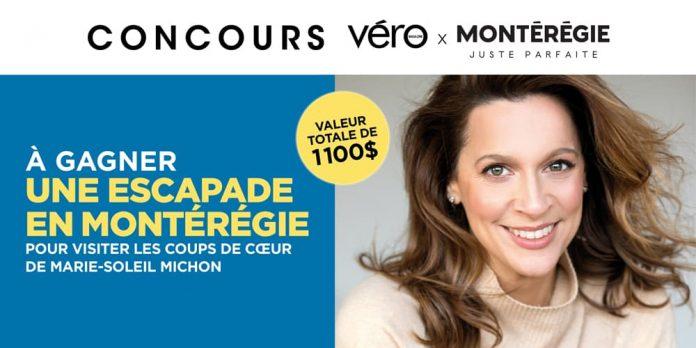 Concours Magazine VÉRO Tourisme Montérégie