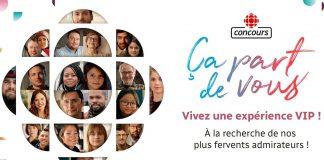 Concours Radio-Canada Ça Part De Vous