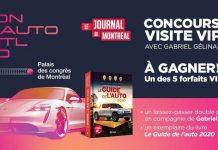Concours Salon de l'Auto 2020 du Journal de Montréal
