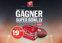 Concours Super Bowl LV de Couche-Tard