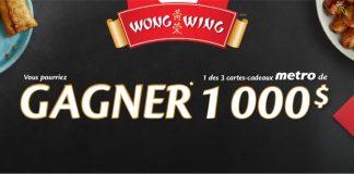 Concours Wong Wing de Metro