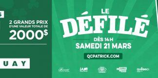 Concours Journal de Québec Défilé St-Patrick