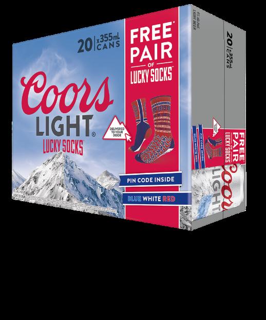Concours Bas Porte-Bonheur Coors Light