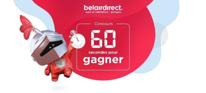 Concours Belair Direct 60 Secondes Pour Gagner
