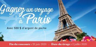 Concours Gagnez un Voyage à Paris de Linen Chest