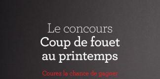 Concours Sucre Redpath Coup de Fouet au Printemps