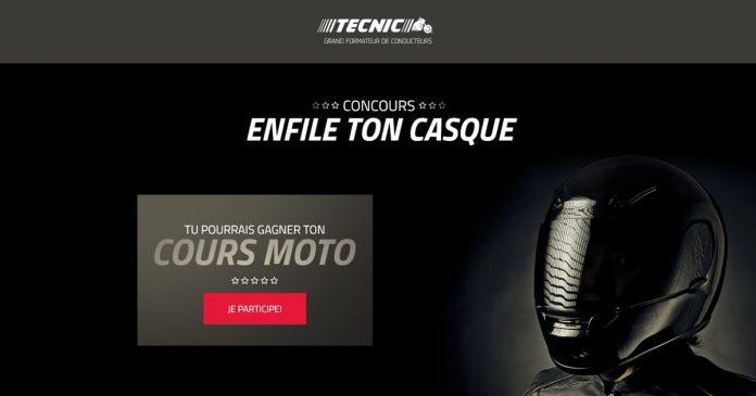 Concours Tecnic Enfile Ton Casque