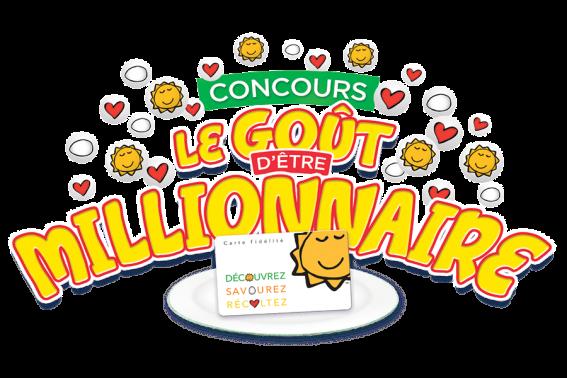 Concours Cora Le Goût d'Être Millionnaire