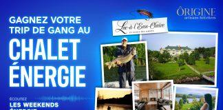 Concours Énergie 94.3 Trip De Gang Au Chalet ÉNERGIE