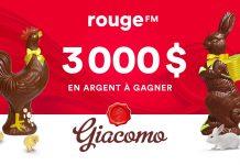 Concours Rouge FM Et Les Chocolats Giacomo