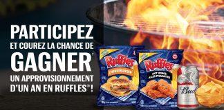 Concours RUFFLES et BUDWEISER La Saison Du BBQ