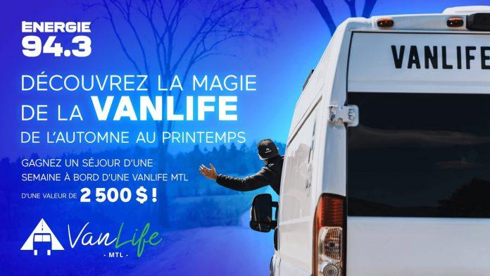 Concours Énergie 94.3 VanLife