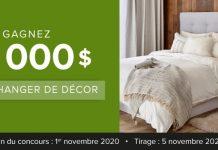Concours Linen Chest 10 000$ Pour Changer De Décor