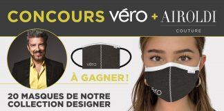 Concours Magazine VÉRO Masque Airoldi 2020